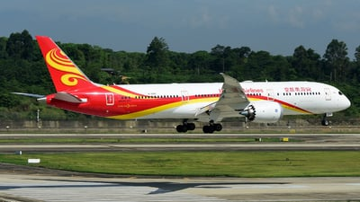 B-208T - Boeing 787-9 Dreamliner - Hainan Airlines