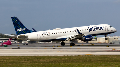 A picture of N206JB - Embraer E190AR - JetBlue Airways - © Sotos