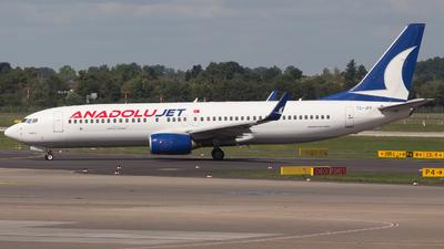 TC-JFF - Boeing 737-8F2 - AnadoluJet