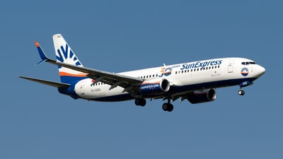 A picture of TCSOG - Boeing 7378HC - SunExpress - © Julian Azeroth