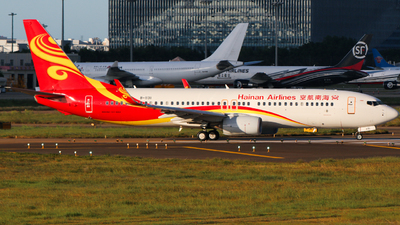 A picture of B1131 - Boeing 73784P - Hainan Airlines - © w9r