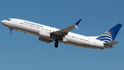 HP-1822CMP - Boeing 737-8V3 - Copa Airlines