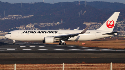 JA616J - Boeing 767-346(ER) - Japan Airlines (JAL)