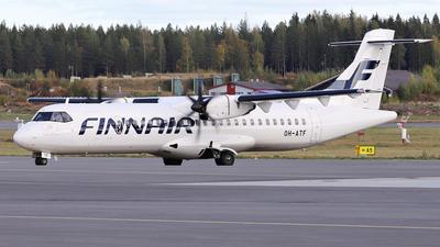 OH-ATF - ATR 72-212A(500) - Finnair (Nordic Regional Airlines NORRA)