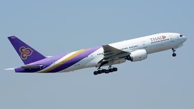 HS-TJS - Boeing 777-2D7(ER) - Thai Airways International