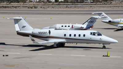 A picture of N915RT - Learjet 55 - [55029] - © C. v. Grinsven