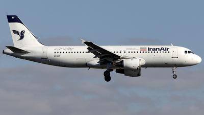 EP-IEF - Airbus A320-211 - Iran Air