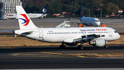 A picture of B6893 - Airbus A320214 - China Eastern Airlines - © Chingwang Lee