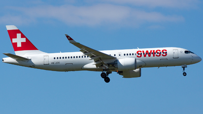 A picture of HBJCC - Airbus A220300 - Swiss - © EFS.PAN