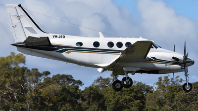 VH-JEO - Beechcraft C90B King Air - Goldfields Air Services