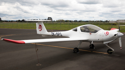 ZK-SFG - Diamond DA-20-C1 Eclipse - L3 Airline Academy
