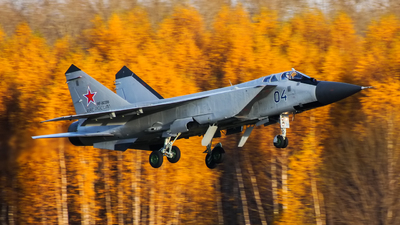 RF-92356 - Mikoyan-Gurevich MiG-31BM Foxhound - Russia - Air Force