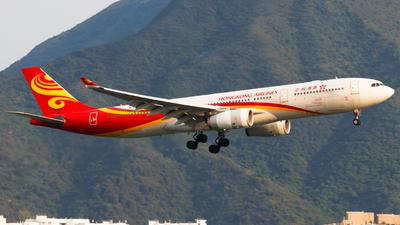 A picture of BLNO - Airbus A330343 - Hong Kong Airlines - © Thomas Tse