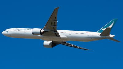 A picture of BKPL - Boeing 777367(ER) - Cathay Pacific - © Wilko Doodhagen