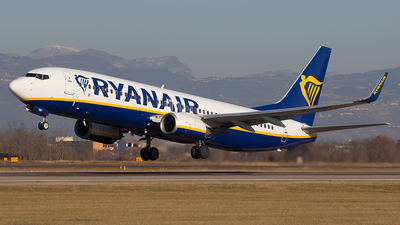 EI-EBF - Boeing 737-8AS - Ryanair