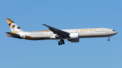A6-ETF - Boeing 777-3FXER - Etihad Airways
