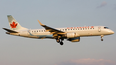 C-FGLY - Embraer 190-100IGW - Air Canada