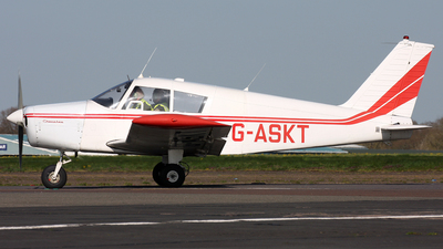 G-ASKT - Piper PA-28-180 Cherokee B - Private