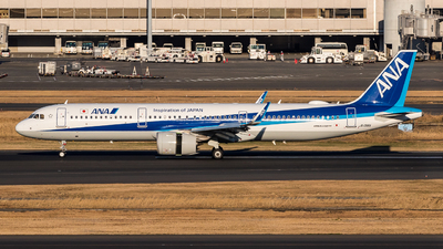 JA136A - Airbus A321-272N - All Nippon Airways (ANA)