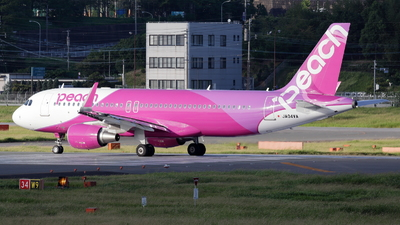 JA04VA - Airbus A320-216 - Peach Aviation