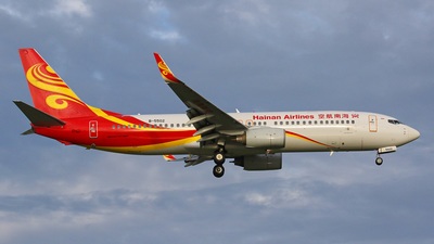 B-5502 - Boeing 737-84P - Hainan Airlines