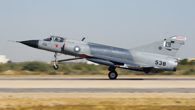 90-538 - Dassault Mirage 3EA - Pakistan - Air Force