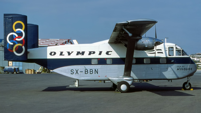 SX-BBN - Short SC-7 Skyvan - Olympic Aviation