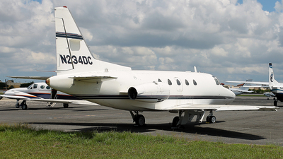 N234DC - Rockwell Sabreliner 60 - Private