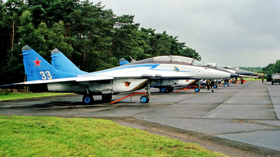 33 - Mikoyan-Gurevich MiG-29UB Fulcrum - Russia - Air Force