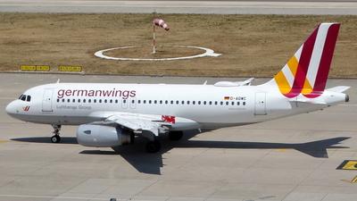 D-AGWC - Airbus A319-132 - Germanwings