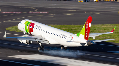 A picture of CSTPV - Embraer E190LR - TAP Express - © Nelson Sousa