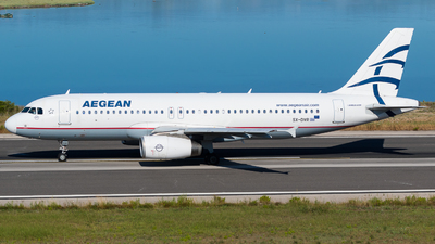 A picture of SXDVR - Airbus A320232 - Aegean Airlines - © Sindy Rogosz