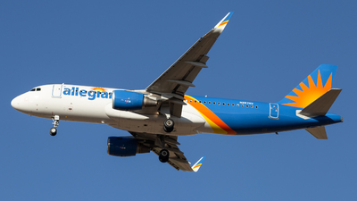 A picture of N257NV - Airbus A320214 - Allegiant Air - © John Marzo