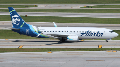 N526AS - Boeing 737-890 - Alaska Airlines