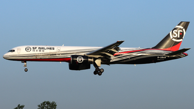 A picture of B2844 - Boeing 7572Z0(PCF) - SF Airlines - © TAORUNWAY35