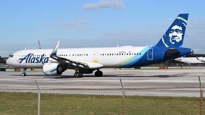N923VA - Airbus A321-253N - Alaska Airlines