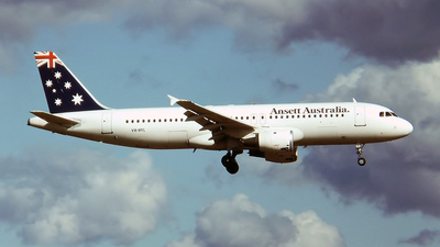 VH-HYL - Airbus A320-211 - Ansett Airlines of Australia