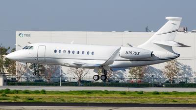 N197DX - Dassault Falcon 2000EX - Private
