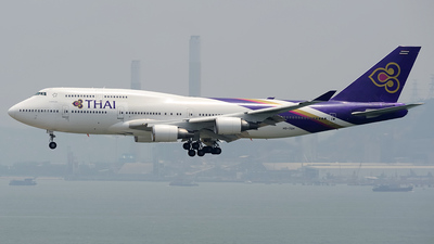 HS-TGH - Boeing 747-4D7 - Thai Airways International