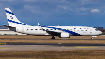 A picture of 4XEKS - Boeing 7378HX - El Al - © Simi