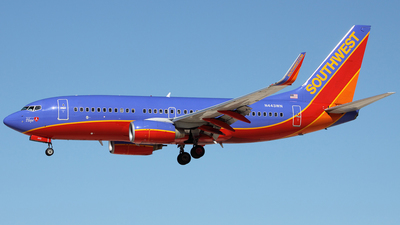 N443WN - Boeing 737-7H4 - Southwest Airlines