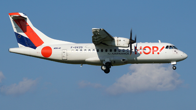 F-GVZD - ATR 42-512 - HOP! for Air France