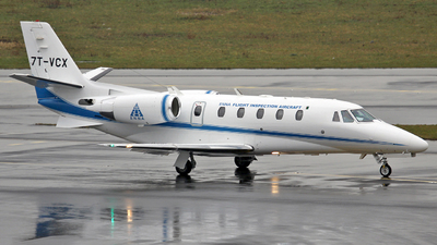 7T-VCX - Cessna 560XL Citation XLS+ - ENNA Flight Inspection
