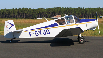 F-GYJO - Jodel D112 - Aéroclub de Bordeaux
