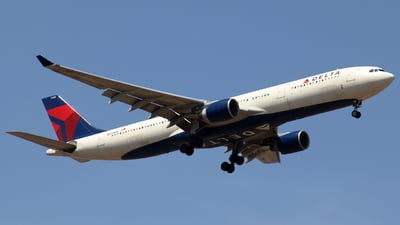 A picture of N808NW - Airbus A330323 - Delta Air Lines - © Sander in West-Africa