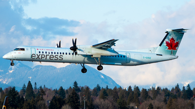 C-GGNZ - Bombardier Dash 8-Q402 - Air Canada Express (Jazz Aviation)