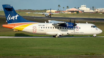 V2-LIG - ATR 42-600 - Leeward Islands Air Transport (LIAT)