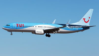 A picture of OOJAV - Boeing 7378K5 - TUI fly - © Florencio Martin Melian