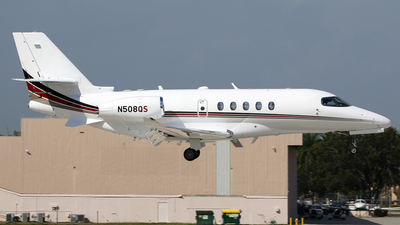 N508QS - Cessna Citation Latitude - NetJets Aviation