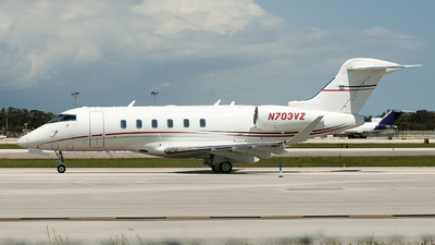 N703VZ - Bombardier BD-100-1A10 Challenger 350 - Private
